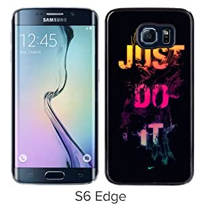 Nike 20 Black Samsung Galaxy S6 Edge Case Unique And Durable Custom Designed High Quality Samsung Galaxy S6 Edge Phone Case