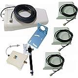 Signalbox 1000-1500sqm 70db High Gain gsm signal booster 900MHz 3g Wcdma 2100Mhz Dual Band