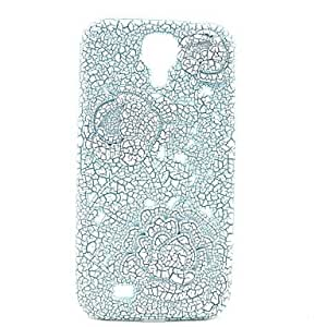 ZL 3D Crack Roses Stereo Design Plastic Back Cover for Samsung Galaxy S4 I9500 (Assorted Color) , Green