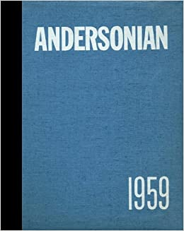 Reprint 1959 Yearbook Anderson High School Cincinnati Ohio