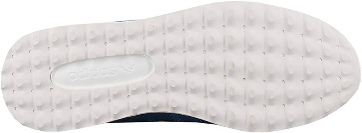 adidas Originals Unisex-Kinder Los Angeles Sneakers, blau Blau-weiß