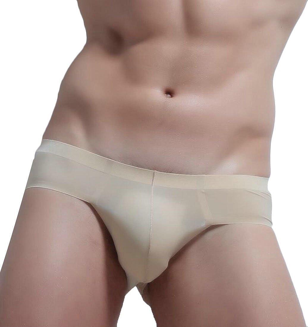 Hmarkt Mens See-Through Stretch Comfort Underwear Briefs