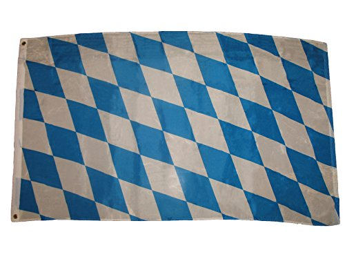 3X5 Bavarian Checks Flag Bundesinder German State Octoberfest Banner Bavaria