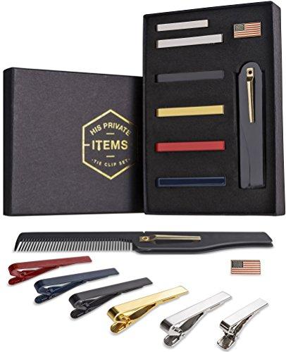 Tie Bar Clip Set for Men -[6 P