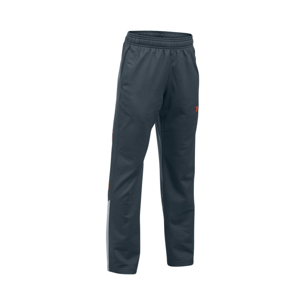 Under Armour Boys' Brawler Pants, Stealth Gray , Youth X-Small