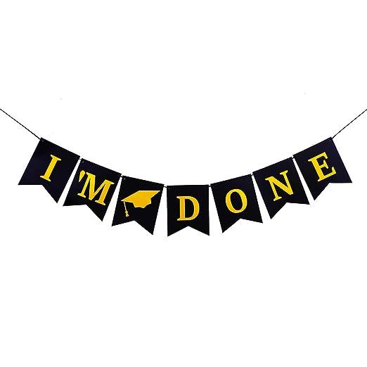 Amazon.com: ahaya felicitaciones Congrats Banner Golondrina ...