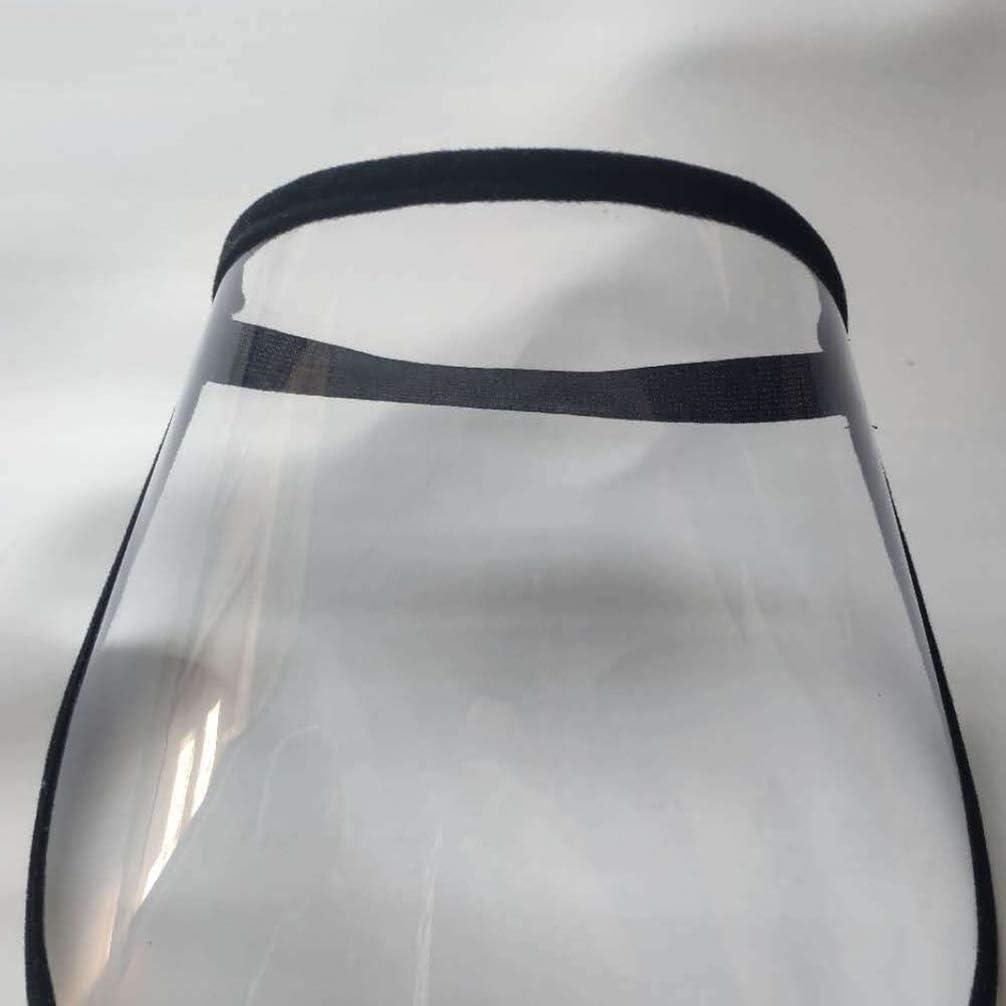 EXCEART 6Pcs Protector Facial de Seguridad Visera Protectora de Cara Completa Tapa Protectora de Cara Clara a Prueba de Viento para Ni/ños Cocina Al Aire Libre Color Aleatorio