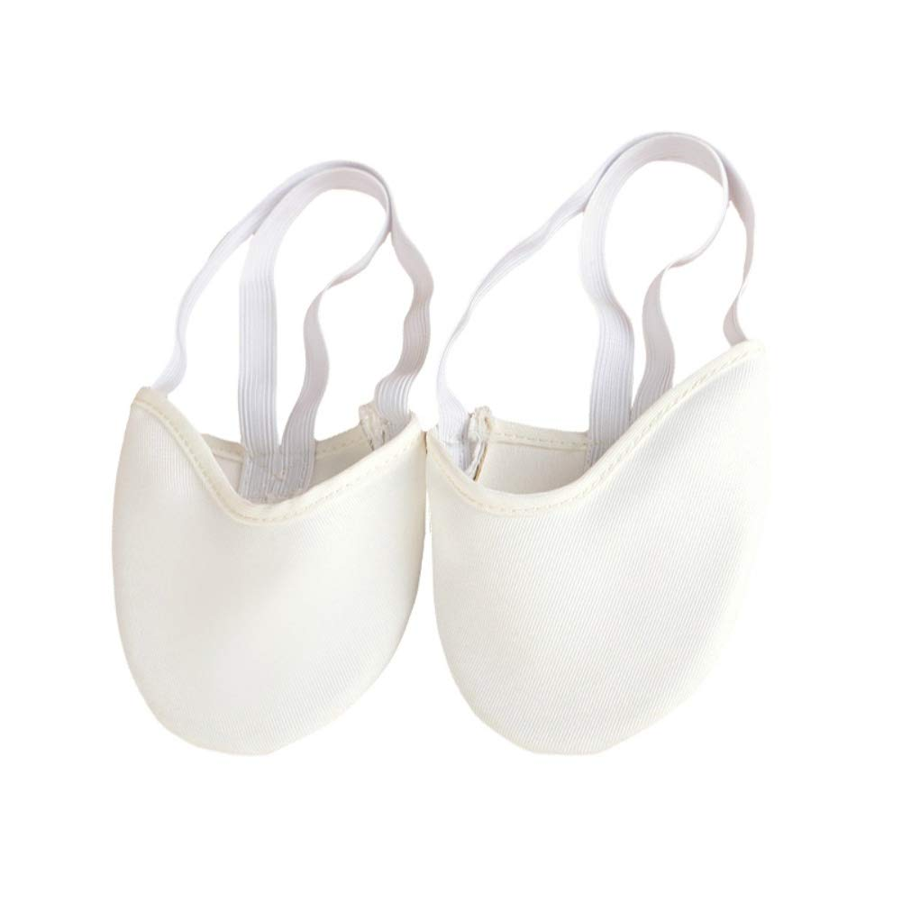 Gsha Adults' Ballet Half Pirouette Shoes Canvas Dance Shoes Rhythmic Gymnastics Slippers 1Pair