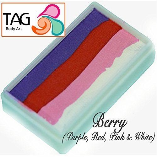TAG Split Cakes - 4 Color Berry (30 gm) ()