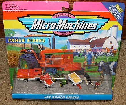 (Micro Machines Ranch Riders #42 Collection)