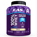Best EAS Diet Shakes - EAS 100% Pure Whey Protein Powder, Vanilla, 5 Review