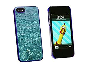 Graphics and More Water Ocean Waves Snap-On Hard Protective Case for iPhone 5/5s - Non-Retail Packaging - Blue