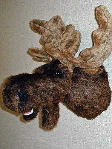 Plush Moose Head