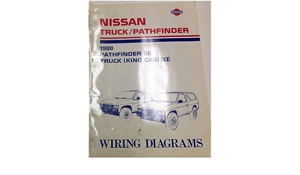 z8 wiring diagram 1988 nissan truck pathfinder electrical wiring diagram shop manual  1988 nissan truck pathfinder electrical