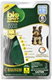 Bio Spot Defense Flea and Tick Spot On with Applicator for Dogs 6-12-Pound- 6 Month Supply