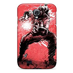 FhnGD1954xOdbr Case Cover Protector For Galaxy S4 Red Guy Case