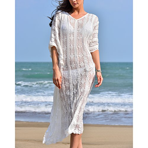 Collection White Style Swimsuit Coverup