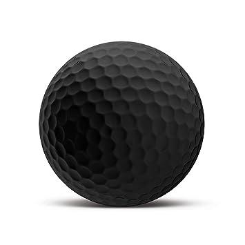 Blanco Bola de golf Black Edition - Impreso Personalizado con su ...