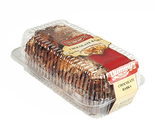 Yummys Cookies Fresh Baked Homestyle Babka Cake - of Gourmet Bread - Like Dessert, Chocolate, 15 oz.
