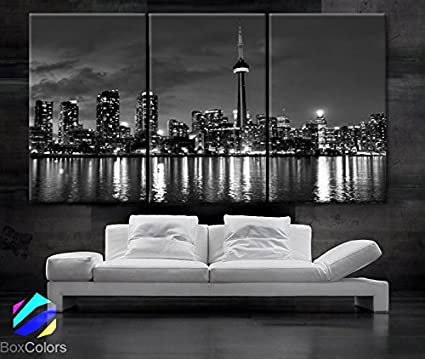 amazon com large 30 x 60 3 panels 30 x20 ea art canvas print