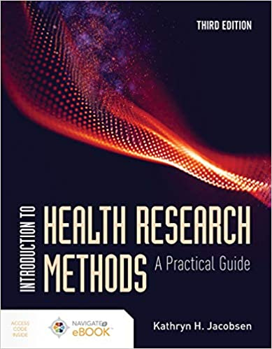 Introduction to Health Research Methods: A Practical Guide, 3rd Edition - Original PDF