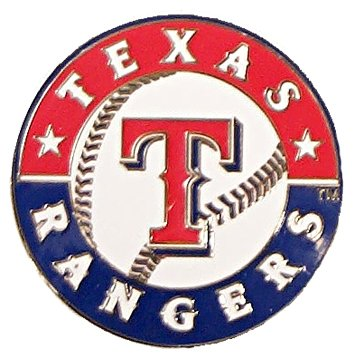 MLB Texas Rangers Logo Pin (Texas Rangers Logo Pendant)