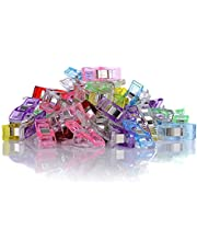GWHOLE Pack of 60 Sewing Clips for Quilting Binding Crafting