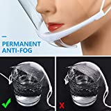 10Pcs Transparent Face Shield for Commercial