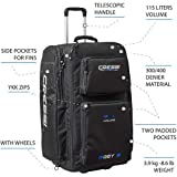 Cressi Strong Large Capacity Roller Luggage Bag