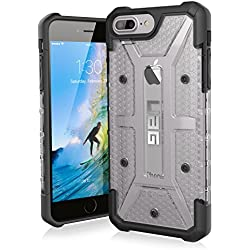 UAG iPhone 8 Plus / iPhone 7 Plus / iPhone 6s Plus [5.5-inch screen] Plasma Feather-Light Rugged [ICE] Military Drop Tested iPhone Case