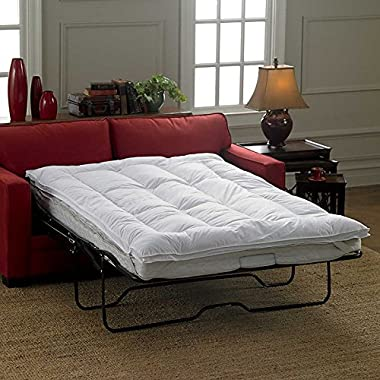Sleeper Sofa Mattress Topper-Queen