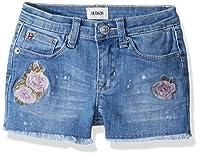 HUDSON Girls' Big Fashion Short, Whatever Wash, 16