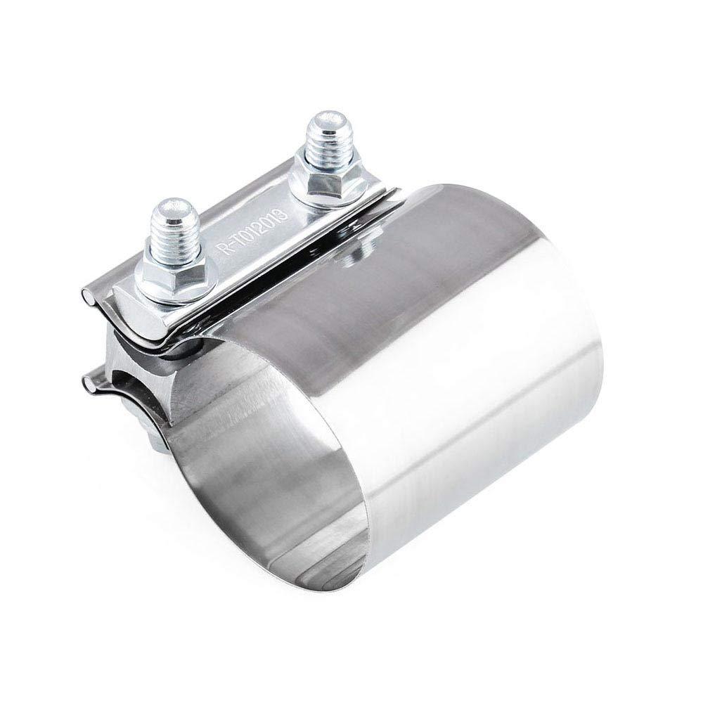 2.5inch Edelstahl Butt Joint Band Auspuffklemme 63mm Clip Allgemeine Verwendung