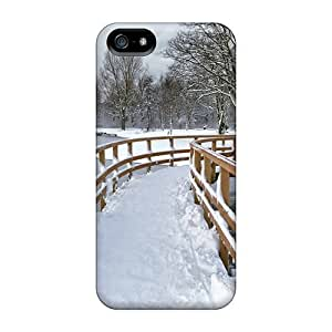 Iphone Case - Tpu Case Protective For Iphone 5/5s- Snow Covered City Park