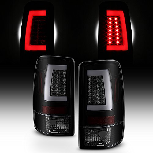 - For Black Smoked 00-06 GMC Yukon XL 1500/2500 Chevy Suburban Tahoe LED Bar Tail Brake Lights Left+Right