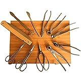 Bonsai Tool Set by Tinyroots - 11 Piece Set