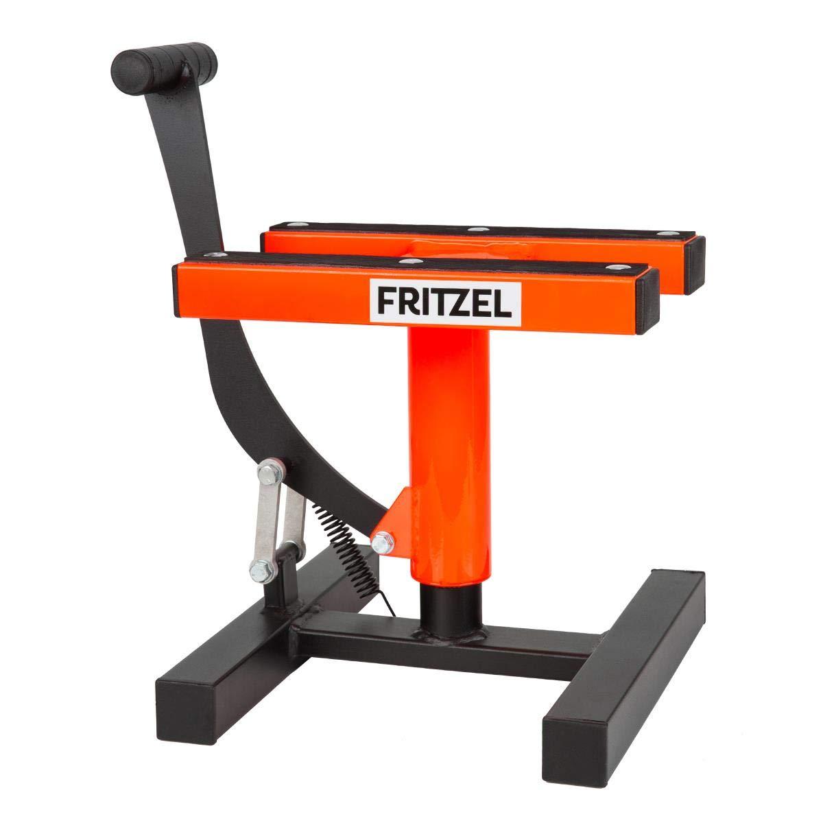 290-410 mm FRITZEL Motorrad-Hubst/änder Kleiner Thron Orange Gr