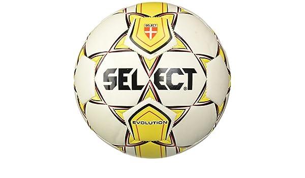 Select - Balón Evolution Pro, color blanco, Bianco/Giallo, 4 ...