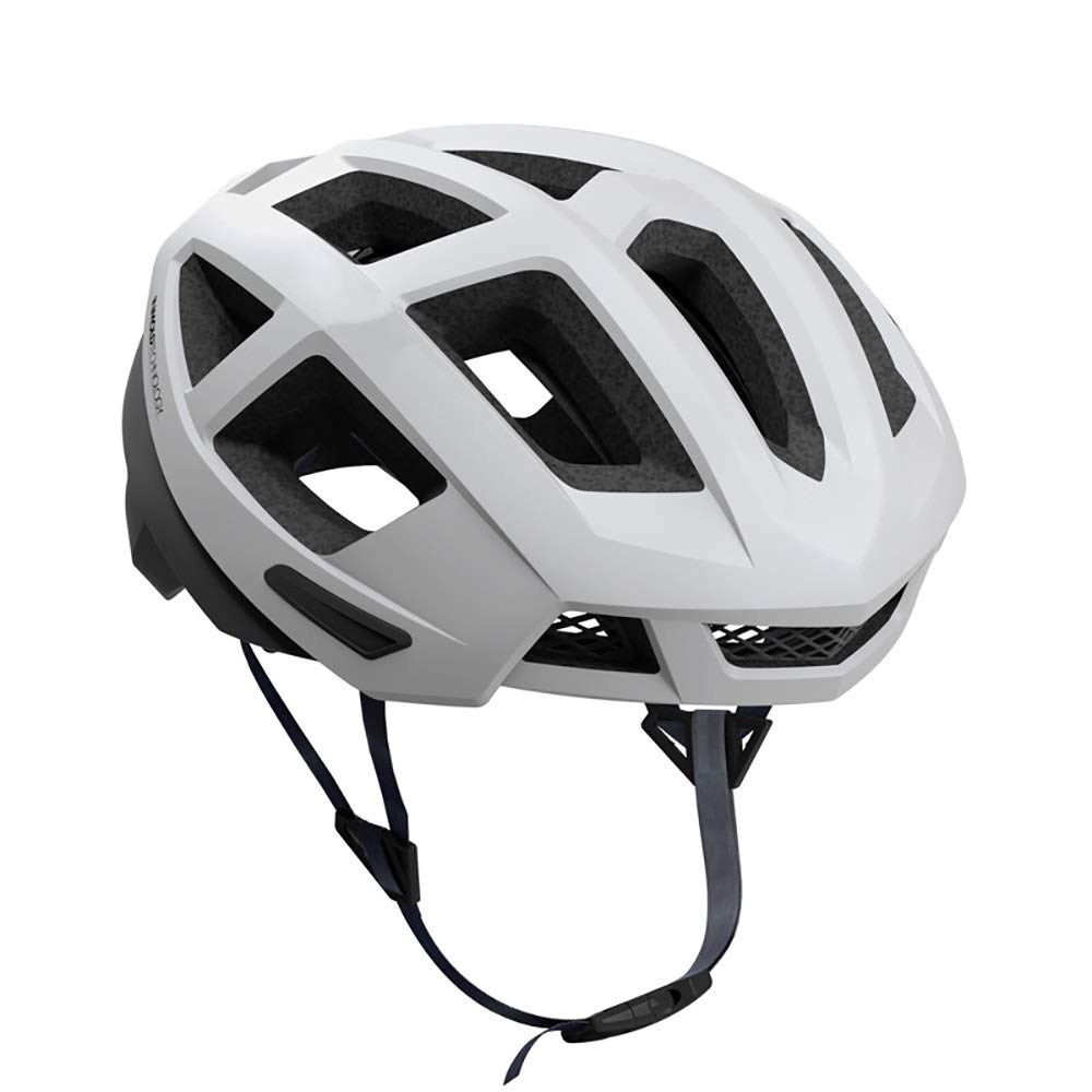 Guoqing Unisex Bicycle, Scooter, Roller Skating Balance Helmet, Light and Comfortable, Cool and Ventilated (Color : White, Size : XL)