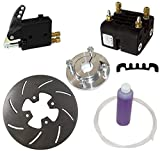 NEW MCP REAR GO KART BRAKE KIT, FOR 1'' AXLES WITH HUB, MASTER CYLINDER, CALIPER, 7.75 x .25'' ROTOR