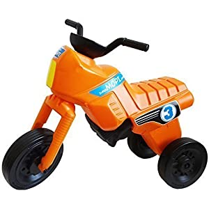 superMOPI Toddler Motorbike Ride-on Toy - orange XL size