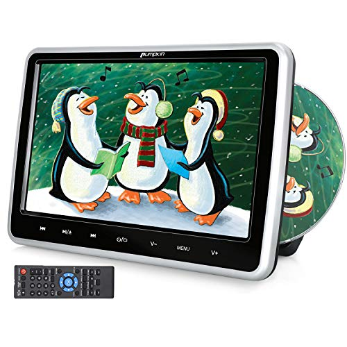 adrest DVD Player with Suction Drive, Support Sync Screen, Region Free, AUX, AV in/Out, USB/SD, Break-Point Memory ()