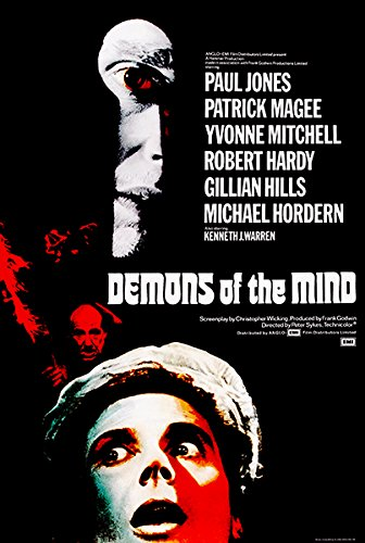 Demons of the Mind - 1972 - Movie Poster