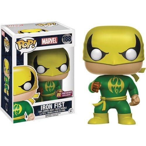 Funko Figurine Marvel - Iron Fist - Classic Suit