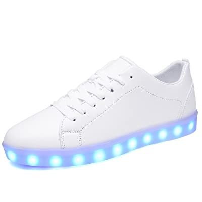 2017 Led Shoes For Adults Fashion Unisex LED Luminous Shoes Men Casual Shoes