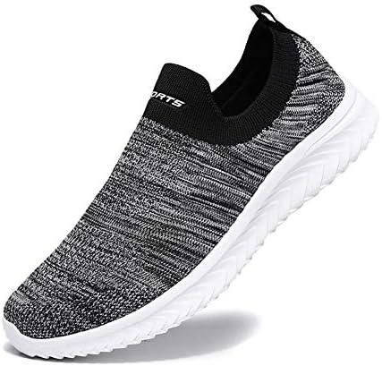 [VITIKE] スニーカー メンズ レディース スリッポン ナースシューズ 超軽量 ウォーキングシューズ 通気性 防滑 ランニングシューズ 履きやすい 作業靴 カップル 靴 男女兼用 9色 22.5cm-28cm