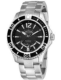 Stuhrling Original Men's 161B4.33111 Watersport Regatta Diver Swiss Quartz Date Stainless Steel Bracelet Watch