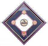 AUTHENTIC APPAREL MLB Houston Astros Commemorative Minute Maid Park Infield Dirt Diamond Plaque with Solid Bronze Medallion Set