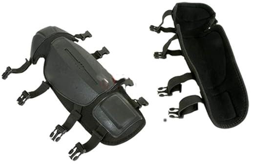 FU - Espinilleras antiojeras para desbrozadora de piernas y Rodillas
