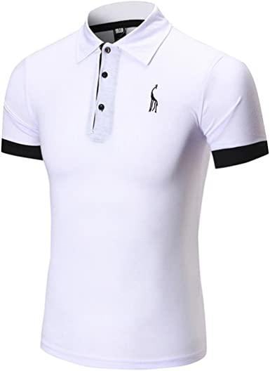 Cinnamou Camisetas Hombre, s de Hombres Deportivas Puños de venado ...